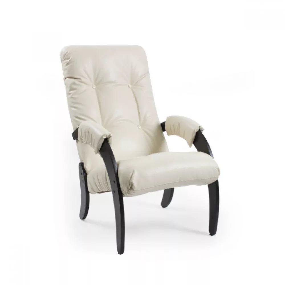 Кресло для отдыха Dondolo Модель 61 (Венге/Ткань синяя Verona Denim Blue)